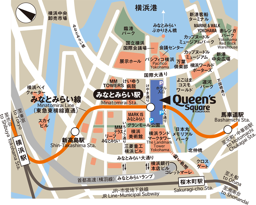 Yokohama Subway Map Pdf.Queen S Square Yokohama